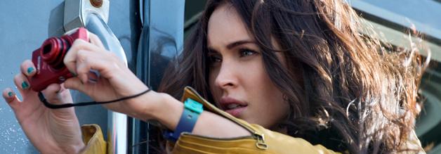 In der Turtles-Verfilmung von 2014 wird April O'Neil von Megan Fox gespielt.