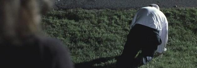 Szene aus The Insider: Psychoterror zwingt Jeffrey Wigand in die Knie.