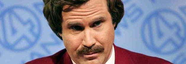 Können dise Augen Lügen? Ron Burgundy (Will Farrell) ist der Nachrichtenstar in San Diego. Alles könnte so schön sein...