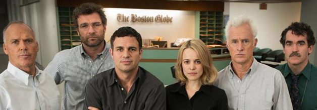 Starkes Team: Spotlight glänzt mit einem starken Ensemble. Von links: Michael Keaton, Liev Schreiber, Mark Ruffalo, Rachel McAdams, John Slattery und Brian d'Arcy James.