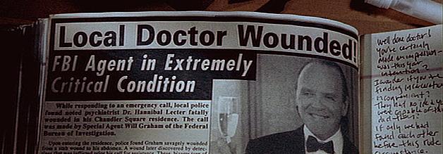 Hannibal the Cannibal: Roter Drache erzählt die Vorgeschichte von Das Schweigen der Lämmer - wie Dr. Lecter vom FBI-Agenten Will Graham überwältigt wurde.