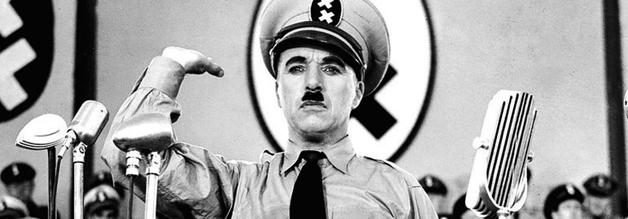 """Das große Vorbild: Charlie Chaplins Der große Diktator. Von Adenoid Hynkel stammt das Kunstwort """"Schtonk"""". Bildmaterial: United Artists."""
