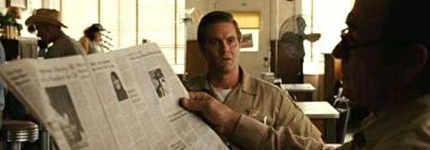 """""""Was gibts Neues?"""" - """"Ewig die gleichen Meldungen!"""" Diese Zeitung schert sich nicht um Neuigkeitswerte. Bildmaterial: Paramount."""