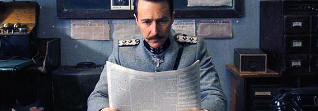 In Grand Hotel Budapest ist die Printwelt noch in Ordnung. Bildmaterial: Fox Serachlight Pictures.