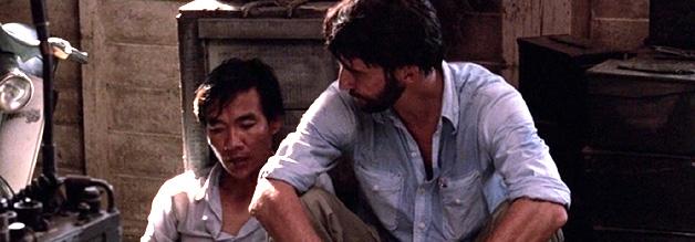 Neue Darsteller braucht der Film: Sam Waterson (links) ist vor The Killing Fields noch recht unbekannt. Haing S. Ngor verfügt noch nicht mal über Schauspielerfahrung.