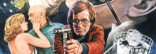 Chuck Browning ist der Held in Futureworld - und Journalist. Auch wenn das japanische Filmplakat etwas anderes suggeriert!