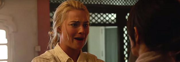 """""""Darf ich mit deinen Sicherheitsleuten vögeln?"""", Tany Vanderpoel (Margot Robbie) macht Kim Baker gleich klar, wo die Prioritäten liegen."""
