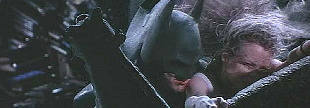 Abhängen mit Batman - aber bitte nur einmal. Journalistin spielt nach Tim Burtons erstem Superhelden-Strich keine Rolle mehr in Batmans Filmuniversum.