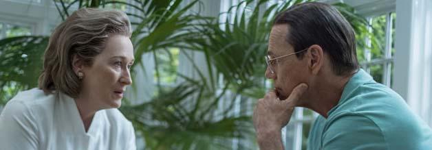 Die Verlegerin und der US-Verteidigungsminister außer Dienst: Nach dem Tod ihres Mannes stand Robert McNamara Katherine Graham (Meryl Streep) zur Seite. Das wird nun zum Problem.