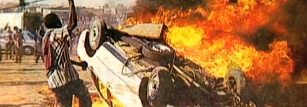 Brennpunkt Südafrika - der Bang Bang Club wurde durch Aufnahmen wie diese weltberühmt.