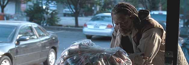 Sieht so ein ehemaliger Boxchampion aus? Samuel L. Jackson spielt einen Mann von der Straße, in dem der Journalist Erik Kernan den Ringkämpfer Bob Satterfield erkennt.