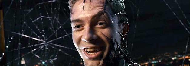 Nicht die beste Wahl: Topher Grace spielte Venom in Sam Raimis Spider-Man 3. Und das leider nur gerade noch so semi-gut. Das Drehbuch meinte es aber auch nicht gut mit der Figur.