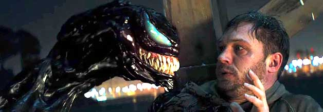 Eddie Brock wird zu Venom: Der Journalist hat alle Mühe, sich mit seinen neuen Superkräften anzufreunden, da muss er schon die Ausbreitung einer Alien-Seuche verhindern.