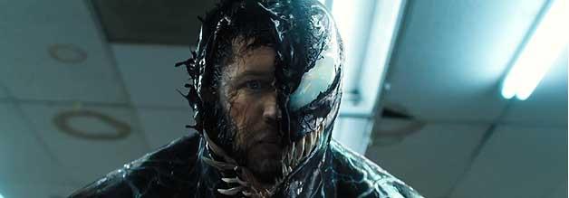 Der Antiheld mit dem zwei Gesichtern. Ohne Spider-Man fallen die Rachegelüste weg und Venom kann als Sympathieträger in Sonys Neben-MCU starten.