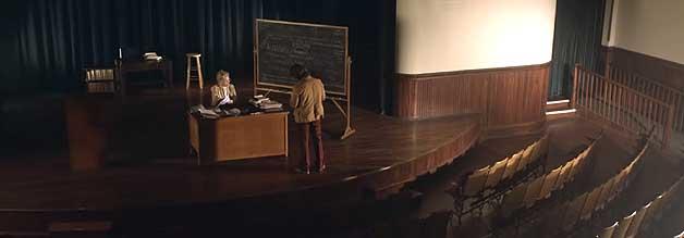 Treffen mit Faye Dunaway. Die Grande Dame spielt eine Psychologin, die Strobel im Rahmen seiner Recherchen aufsucht.