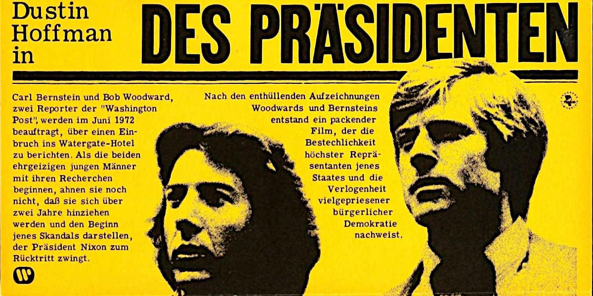 Fundgrube Filmplakate: Poster-Journalisten, Part I
