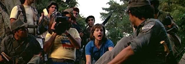 Bloß nicht: Jane fürchtet sich vor eine übermäßigen Inszenierung von Nachrichten. Auch noch im tiefsten Dschungel.