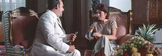 Interview mit einem Despoten: Claire im Vier-Augen-Gespräch mit Somoza.