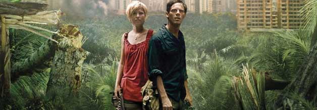 Reporter Andrew geht in Monsters auf Fotosafari durch die infizierte Zone in Nord-Mexiko.Die Tochter seines Verlegers begleitet ihn unfreiwillig.