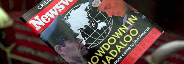 Showdown in Shandaloo: Colonel Guile (rechts, Jean-Claude Van Damme) will den wahnsinnigen Diktator M. Bison (Raul Julia) stürzen.