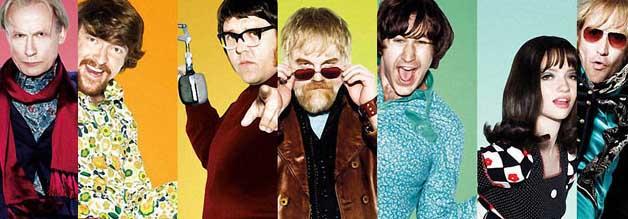 Wir lagen vor Großbritannien und hatten den Rock an Bord. Quentin und seine Crew ärgern in Radio Rock Revolution  die große BBC.