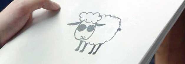 Ein blindes Schaf findet auch mal einen Scoop. Dieses Hammel-Abbild lugt eines Tages via Fax hervor. Journalistin Yoshioka übernimmt die Recherche.