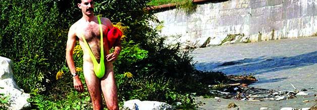 Klassischer Borat: Sein Mankini darf eine Zeitlang auf keinem Männergeburtstag als Gag-Geschenk fehlen.