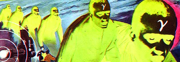Sensation: Die Blue Man Group strebt einen Imagewandel an. Bildmaterial: Columbia.