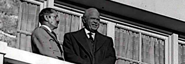 Fragwürdige Bekanntschaft: Kane gastiert beim Führer in Nazi-Deutschland. Vorbild Hearst fiel durch seine Bewunderung für Hitler in Ungnade.