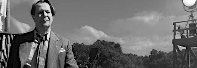 Gary Oldman spielt Herman J. Mankiewicz. David Finchers Vater Jack hat das Drehbuch zu Mank geschrieben, das den Verdienst des Autors an Citizen Kane hervorheben soll.