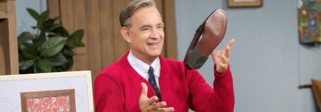 Tom Hanks ist über mehrere Ecken mit dem echten Mr. Rogers verwandt.