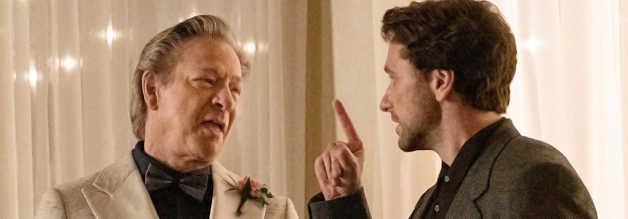 Lloyd Vogel ist nicht der umgänglichste Typ. Das zeigt sich in der Begegnung mit seinem Vater (gespielt von Chris Cooper), die noch eine wichtige Rolle spielen wird.