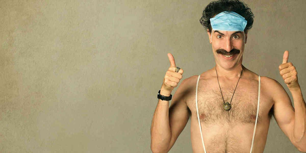 Maske statt Mankini: Borat Anschluss Moviefilm (2020)
