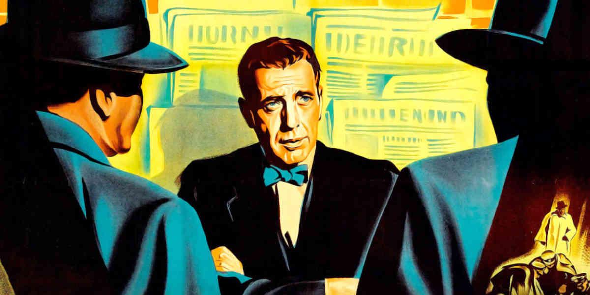 Zeitungssterben mit Bogart: Die Maske runter (1952)