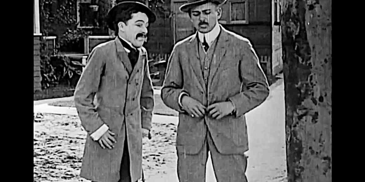 Ohne Worte #7: Chaplin, der fiese Reporter in Making a Living (1914)
