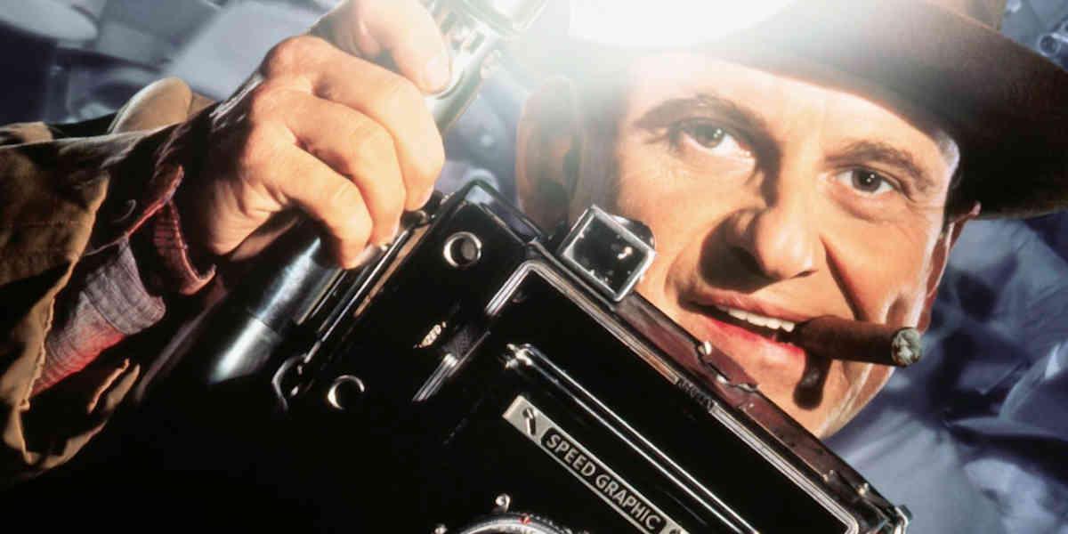 """Weegees Wiedergänger: Leon Bernstein in """"Der Reporter"""" (1992)"""