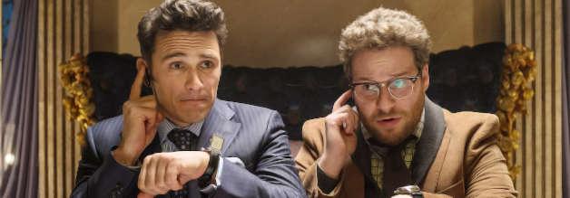 Undercover in Nordkorea: Dank der CIA wird das Interview von Dave Skylark (James Franco, l.) zu einer mörderischen Angelegenheit. Produzent Aaron Rapaport (Seth Rogen) steht als Prellbock zur Seite.